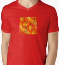 Seamless Vibrant Yellow Gazania Flower T-Shirt