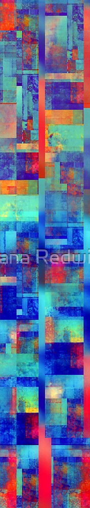 Abstract Composition - Version One by Ivana Redwine