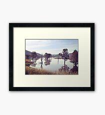 Lake Hume, Rural NSW Framed Print
