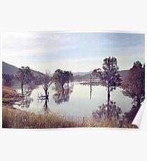 Lake Hume, Rural NSW Poster