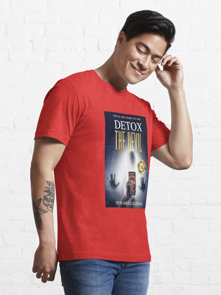 Alternate view of Detox The Devil Essential T-Shirt