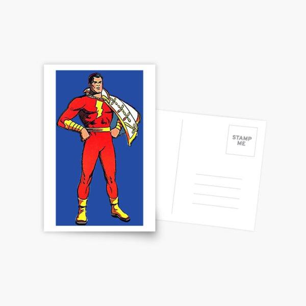 Captain Marvel Postcard