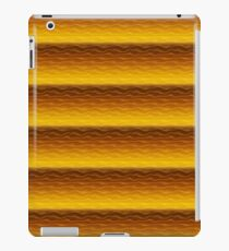 Gold Sand Dunes Abstract iPad Case/Skin