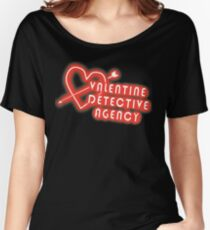 Valentine Detective Agency Women's Relaxed Fit T-Shirt