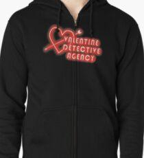 Valentine Detective Agency Zipped Hoodie