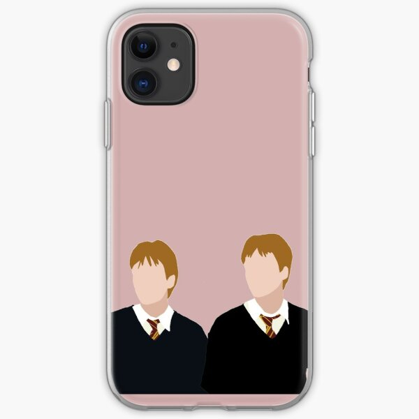 The Twins, Again iPhone Soft Case