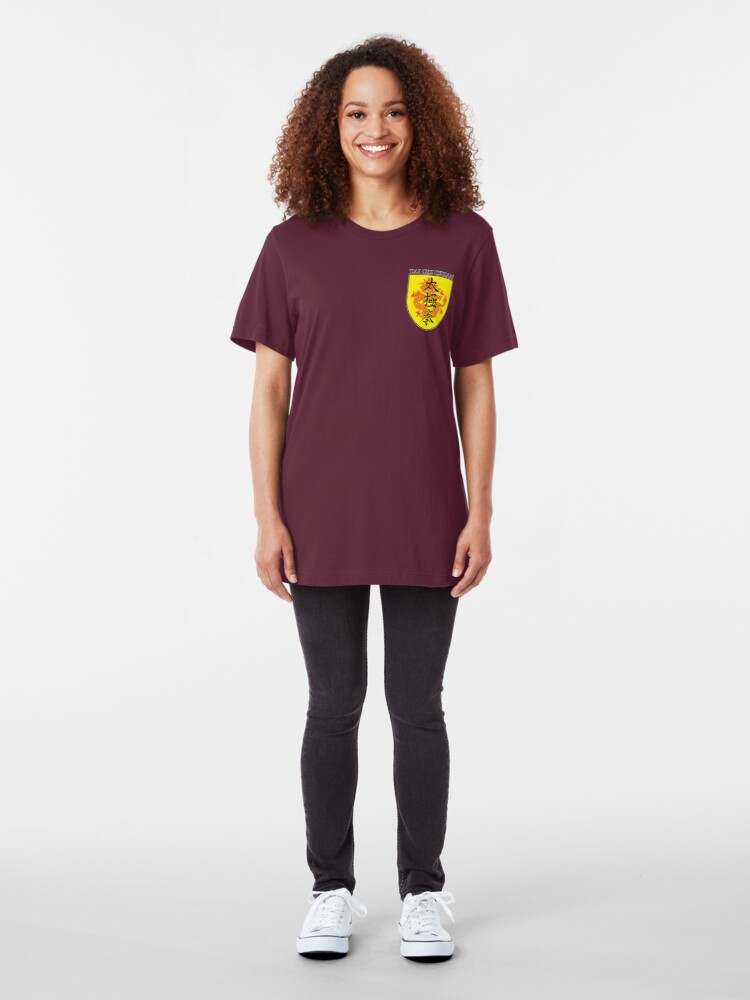Alternate view of Tai Chi Chuan Slim Fit T-Shirt