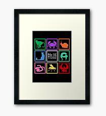 Monogatari Framed Print