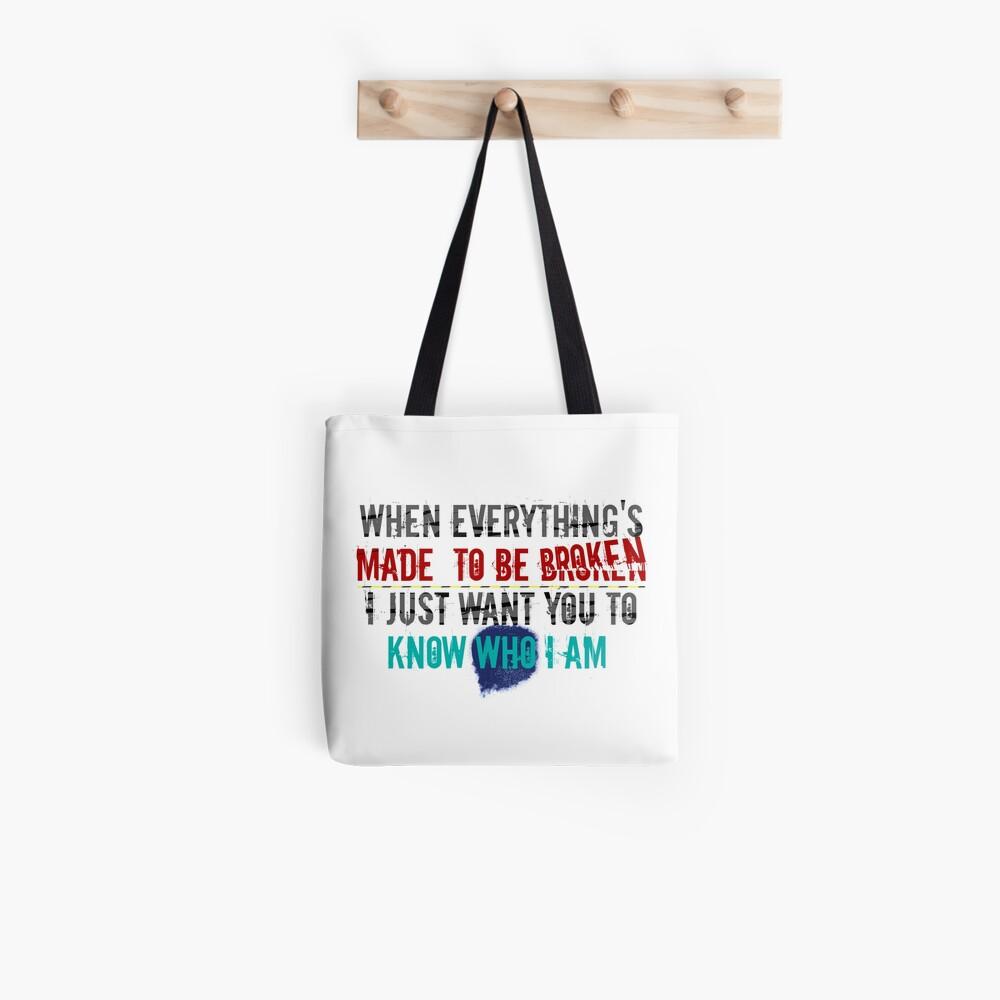 Iris - Goo Goo Dolls Tote Bag