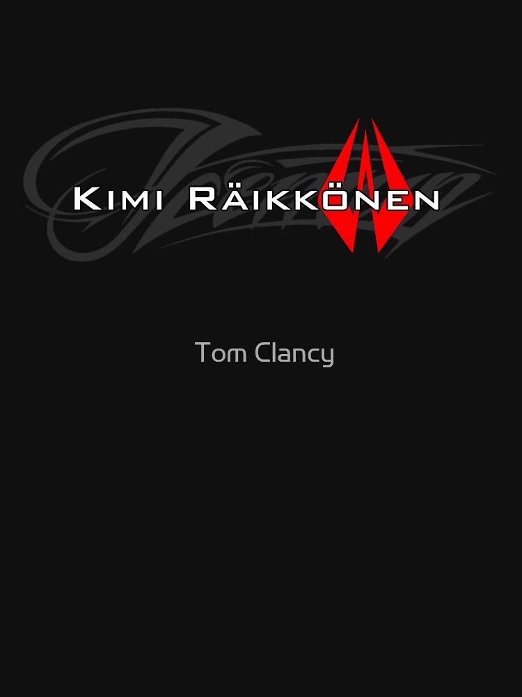Kimi Raikkonen - Iceman (Helmet Colours) | Unisex T-Shirt