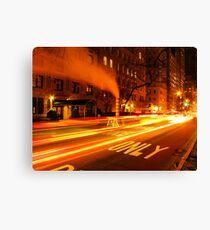 "Lienzo ""Emergency lane"" (New York)"