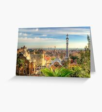"""""""Parc Guell"""" (Barcelona) Greeting Card"""