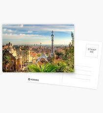 """Parc Guell"" (Barcelona) Postcards"