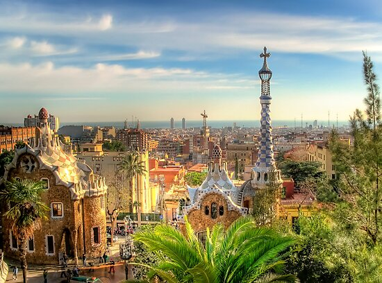 """""""Parc Guell"""" (Barcelona) by Paul Ryan"""
