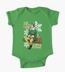Elf on an Elf on a Shelf One Piece - Short Sleeve