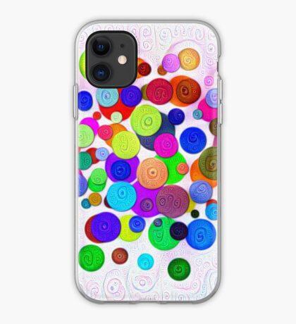 #DeepDream Color Circles Visual Areas 5x5K v1448388480 iPhone Case