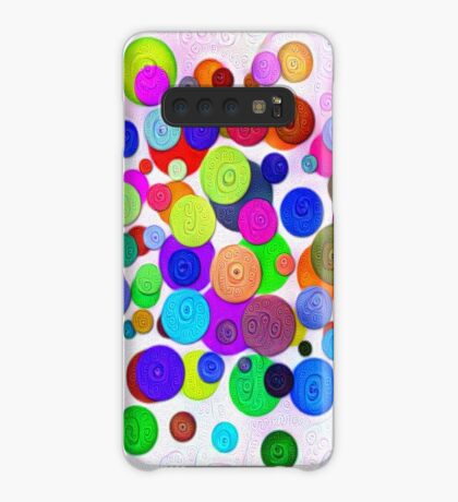 #DeepDream Color Circles Visual Areas 5x5K v1448388480 Case/Skin for Samsung Galaxy