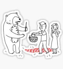 Picnic Bandit Sticker