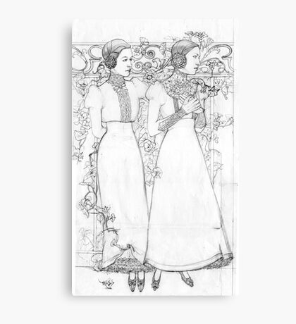 Le liseron Canvas Print