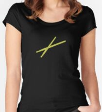 Drumsticks Women's Fitted Scoop T-Shirt