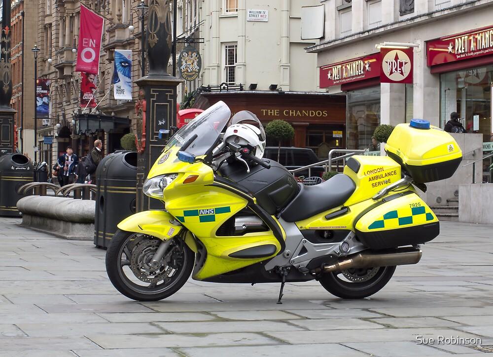 Ambulance Motorbike by Sue Robinson