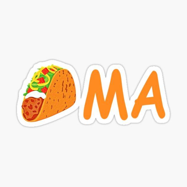 Funny Taco Tacoma Washington  Sticker