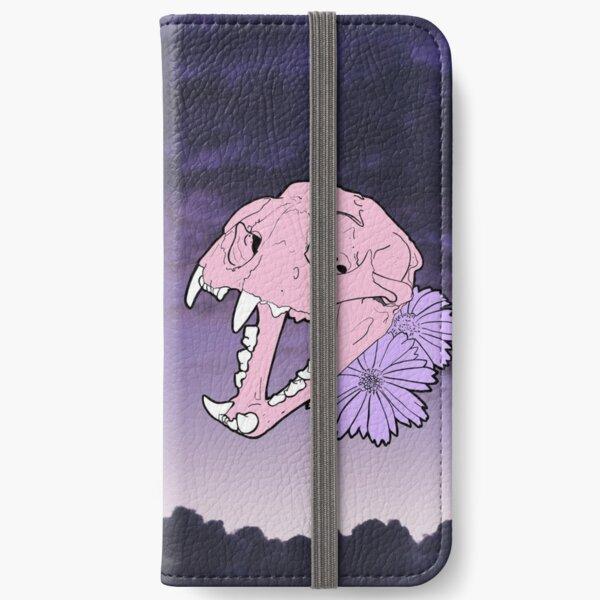 Cat Skull Moon Magik iPhone Wallet