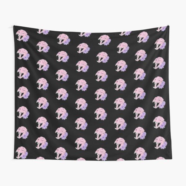Cat Skull Moon Magik Tapestry