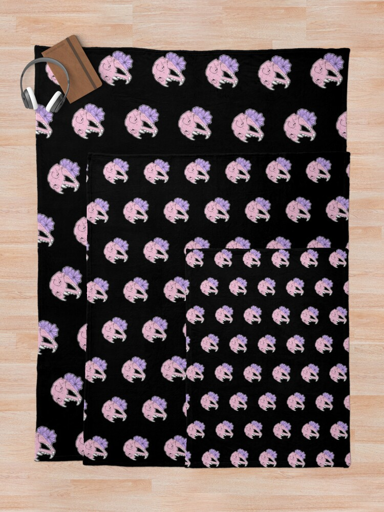 Alternate view of Cat Skull Moon Magik Throw Blanket