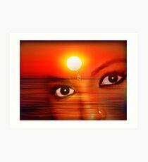 Sunset 12 Art Print