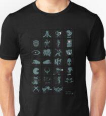 Alphabetical Poster T-Shirt