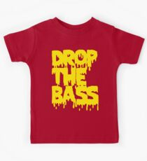 Drop The Bass (Melt) [yellow] Kids Tee