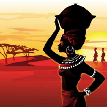 The Afrikan Woman by Dozi
