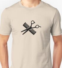 Comb & Scissors Unisex T-Shirt