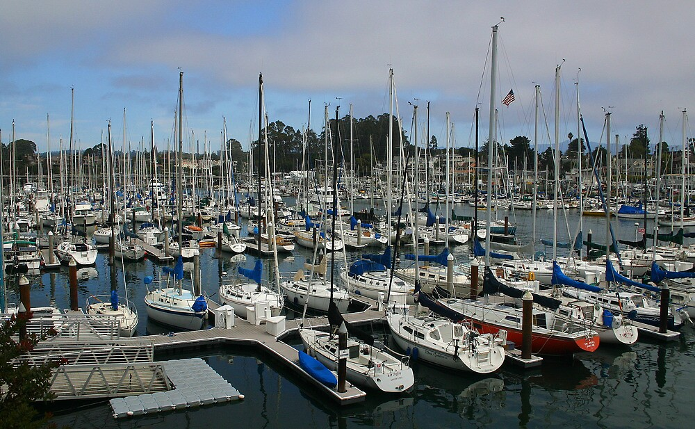 SANTA CRUZ MARINA by fsmitchellphoto