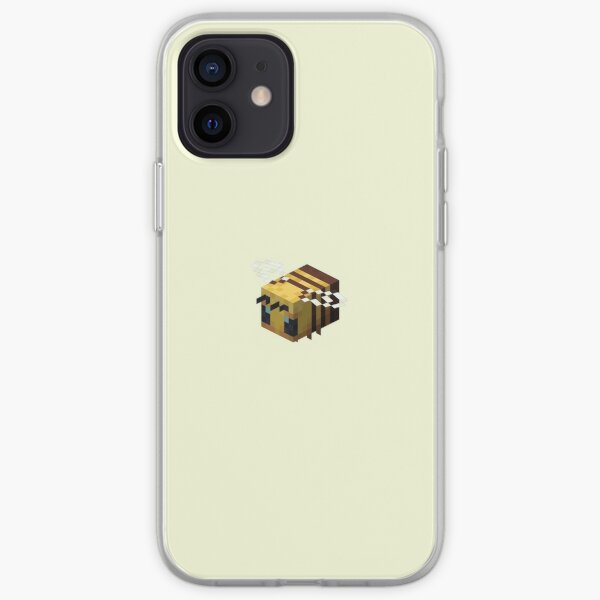 Minecraft Bee iPhone Soft Case