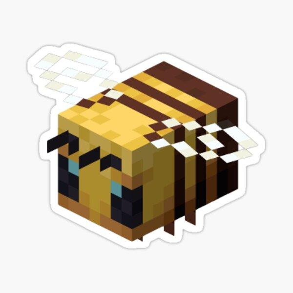 Minecraft Bee Sticker