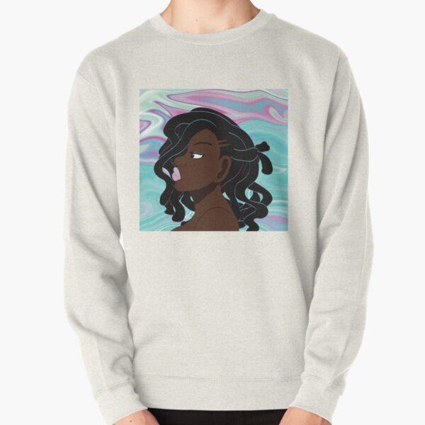Mayendi Blue Pullover Sweatshirt