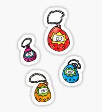 digital keychain pets Sticker