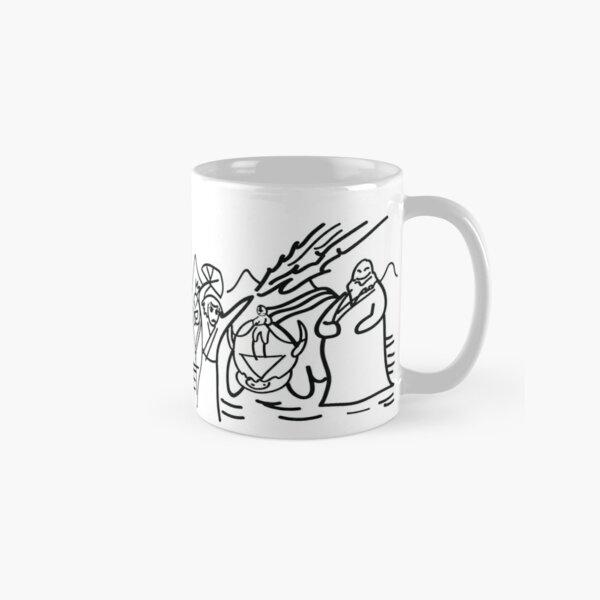 Sokka's Finale Drawing of the Avatar Gang Classic Mug