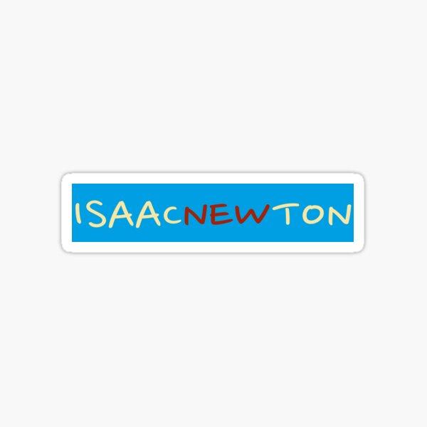 Isaac Newton Sticker
