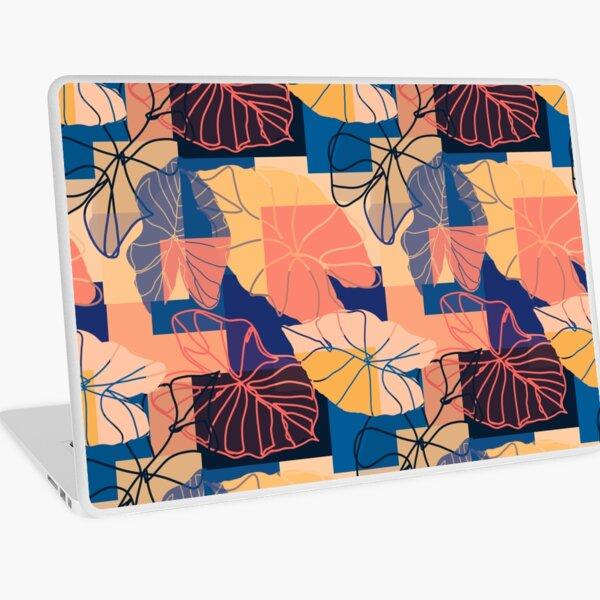 Blocked Ears - Blue, Orange, Coral, Pink, Yellow, Black Laptop Skin