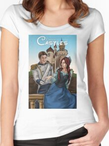 Castle's Castles Women's Fitted Scoop T-Shirt