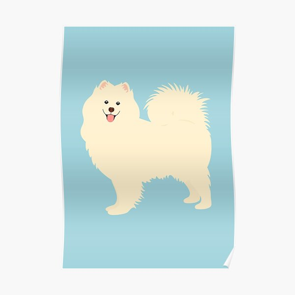 Samoyed Dog Poster