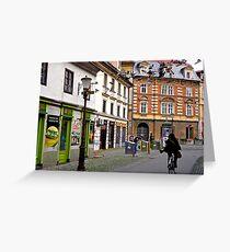 Morning in Ljubljana, Slovenia Greeting Card