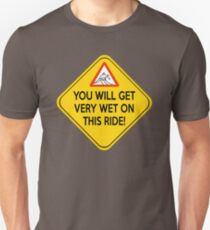 Wet ride Unisex T-Shirt