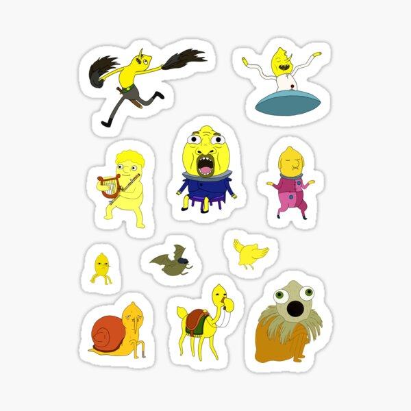 lemon children creatures of lemongrab earldom sticker pack 2 Sticker