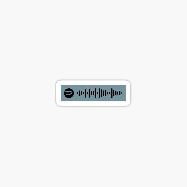 Walls Louis Tomlinson Spotify Scan Code Sticker