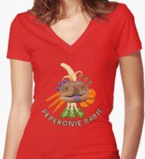 BIRTHDAY BOY Women's Fitted V-Neck T-Shirt