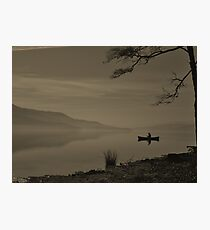 Lonely Coniston Water Cumbria Photographic Print